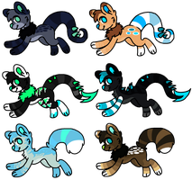 Mixed Adoptables [4/6 Open] by Mulch-Adopts