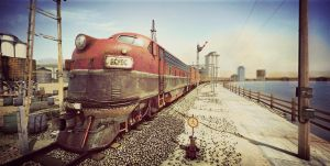 Train Render Version02 by AhmadTurk