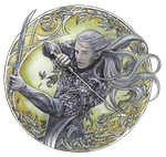 Warrior of Mirkwood by jankolas