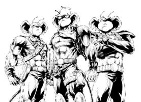 biker mice from mars by denart