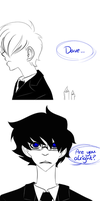 Homestuck - I'm okay by W-i-s-s-l-e-r