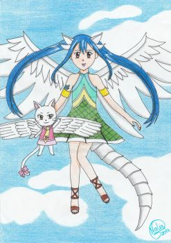 Wendy, dragon slayer del cielo by ragnya