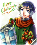Merry Christmas 2014! Kaito Shion Edition by NaruFan808