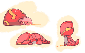 ORAS: Baby Groudon Concept by The-Earth-Mistress