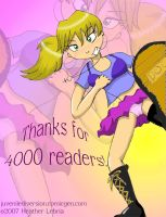 Thanks For 4000 Readers by SP85