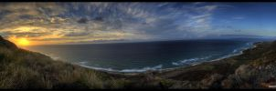 Sunset Hill Pano HDR by crazyIvan969