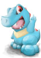 Totodile No 1 by Boshy00