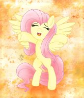MLP FIM - Fluttershy's Orange Dream by Joakaha