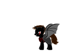 lucifer in his pony form by elfmoon3