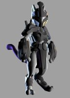 Armored Mewtwo by tyokio