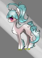 Sweety pony adopt AUCTION! CLOSED by Tailzy24