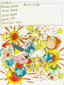 Bomb Kirby Moves by stephan444