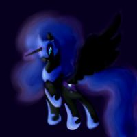 Try 1-Nightmare Moon by xw3r3w0lfx