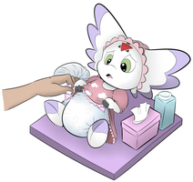 Diaper Change by RogueYoshi