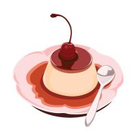 Pudding - Cherry by XueY1806