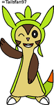 Paint Chespin by FluffyFerret97