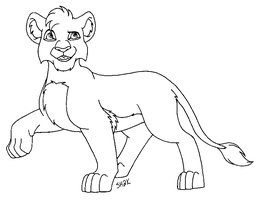 Misc. Cub Lineart MSP by sailorharmony2000