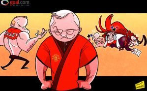 Kung fu Fergie lining up final battle with Rooney by OmarMomani