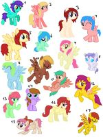 17 Female Pegasus Adopt (closed) by Rainbows-Lover