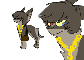 Design trade with LupisVulpes by monstercat-masochism