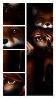 Fox Remix - Detail by thegray-candle