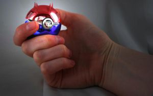 The Pokeball of Optimus Prime by wazzy88