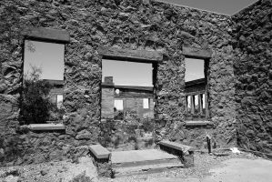 Abandoned school, Kent TX (6) by momentspause