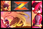 Megaman Zero Wallpaper by Nekokan-L