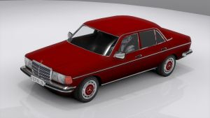 Mercedes-Benz W123 by skytire