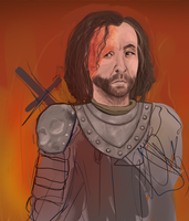 The Hound WIP by PlaguePuppet