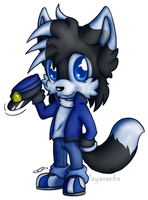 .:KP: Chibi Blacky:. by Mayasacha