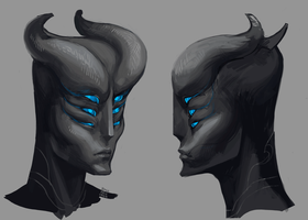 Mask of an Occulum by tigr3ss