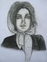 Lady in Pastel Pencil by Avalonis