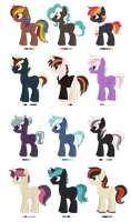 [CLOSED] - Ponies Batch 11 by Featheries