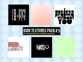 Icon Textures: Pack #5 by Kaleidoscopic-Dreams
