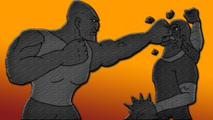 Absorbing Man Vs Kevin 11 by Inkheart7