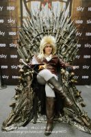 Jareth Goblin King Iron Throne by jacks-peapod