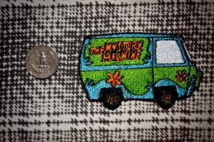 Mystery Machine Patch by Rae-Lynn