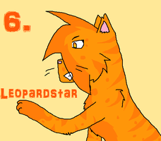 6. Leopardstar by RavenfeatherForever
