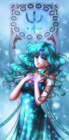 Sailor Royalty: Princess Neptune by galia-and-kitty