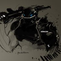 Marvel Fan Art BARRACUDA by benedickbana