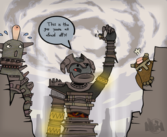 Colossus are Wimps by pikmin789