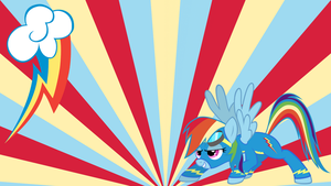 rainbow dash wonderbolt by neodarkwing