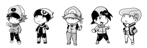 Pokemon Chibi - Male by tsunami-dono
