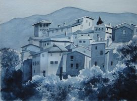 70. Scenery in Umbria by Masasasaki