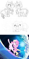 WIPs and Sketches by Jojuki-chan