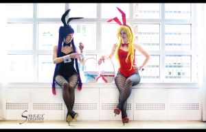 The Bunnies - Panty and Stocking II by EnchantedCupcake