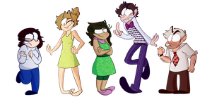 Inside out - Humans by Mikky-Be