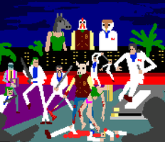 Hot pixel Miami by protoss722