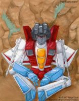 Hail Starscream by keaalu